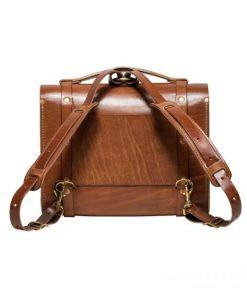 Túi xách da bò thật màu Buck Brown
