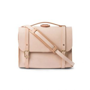 Túi xách da bò thật màu Simple Veg Tan