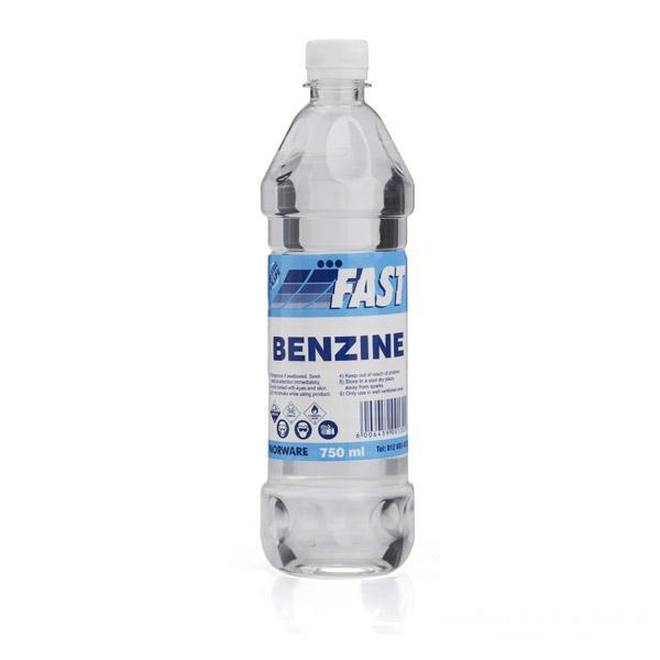 benzine làm sạch đồ da