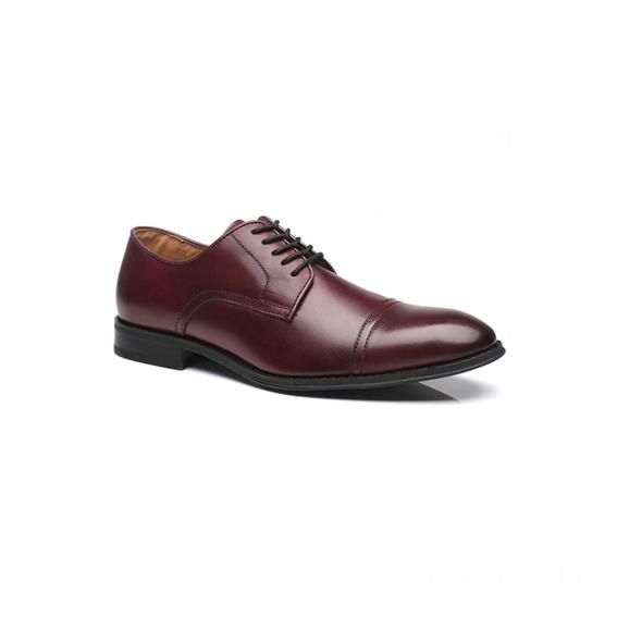 Giày tây nam kiểu buộc dây Bordeaux GDNGTN0002-VB