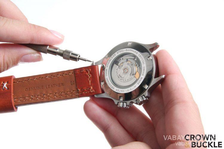 chăm sóc dây da đồng hồ