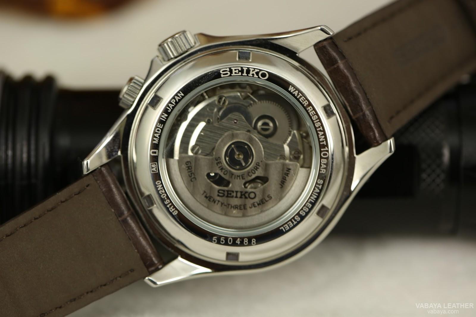 dây da đồng hồ vabaya