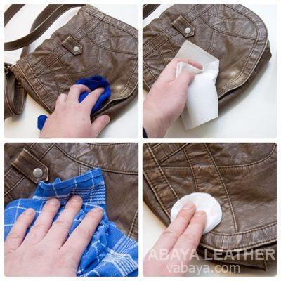 làm sạch túi da