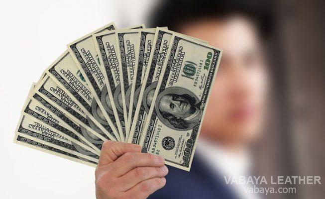 ví da mang nhiều tiền bạc