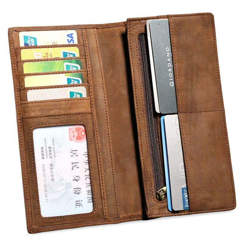 Ngày nay, có khá nhiều sự lựa chọn cho ví dài nam