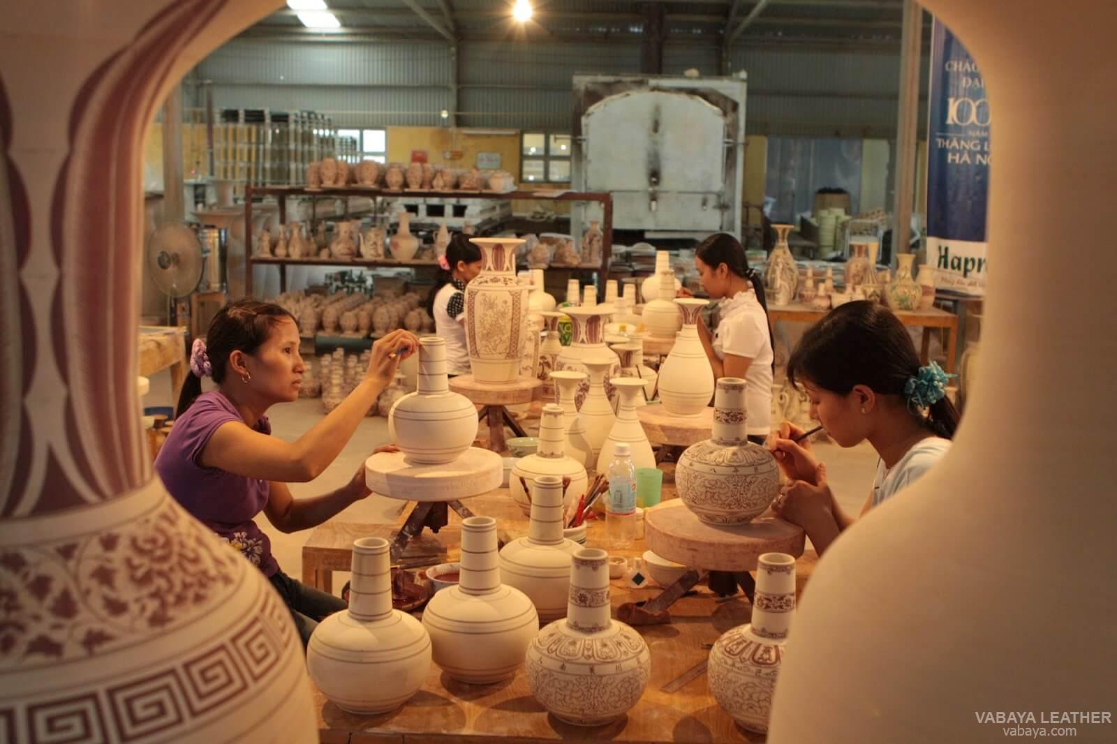 Những sản phẩm gốm sứ được làm thủ công