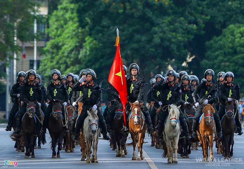 Đội kỵ binh diễu hành Việt Nam