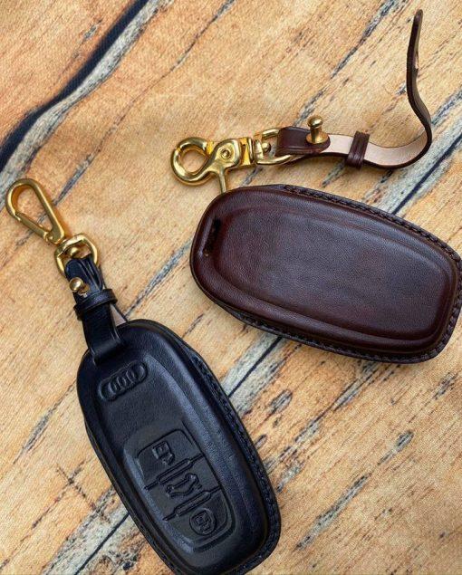 Bao da chìa khóa Audi