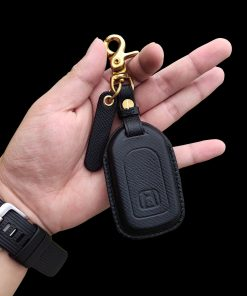 Bao da chìa khóa Honda CR-V da epsom đen