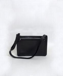 Túi xách da nữ handmade Túi Elios đen tinh tế