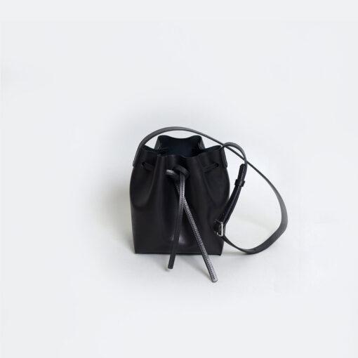 Túi xách da nữ handmade Túi Jose đen tinh tế - SP