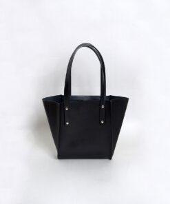 Túi xách da nữ handmade Túi Nice đen tinh tế