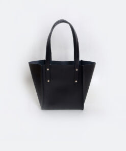 Túi xách da nữ handmade Túi Nice đen tinh tế - SP