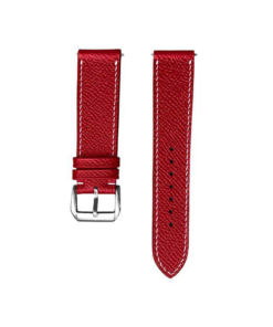 Dây da đồng hồ GRANT05 - Epsom Leather - Red Color