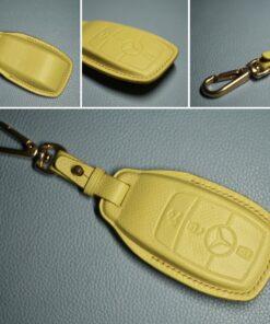 Bao da chìa khóa MERCEDES E